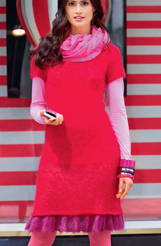 Women's Hand Knit Dress 35E