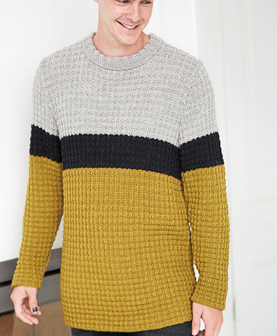 Men's Hand Knit Sweater 164B - KnitWearMasters