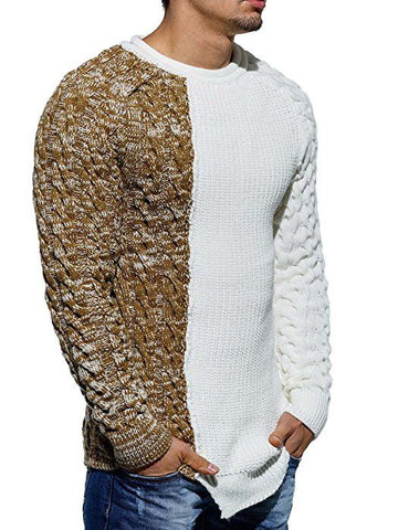 Men's Hand Knit Sweater 80B