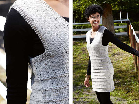 Women's Hand Knit Dress 36E - KnitWearMasters