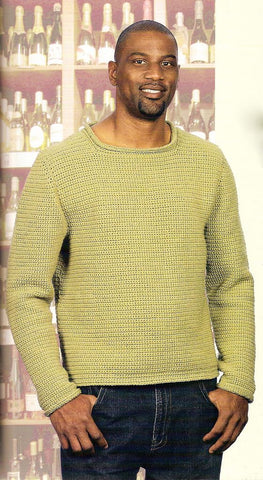 Men's Hand Knit Sweater 84B - KnitWearMasters