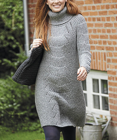 Women's Hand Knit Dress 31E - KnitWearMasters
