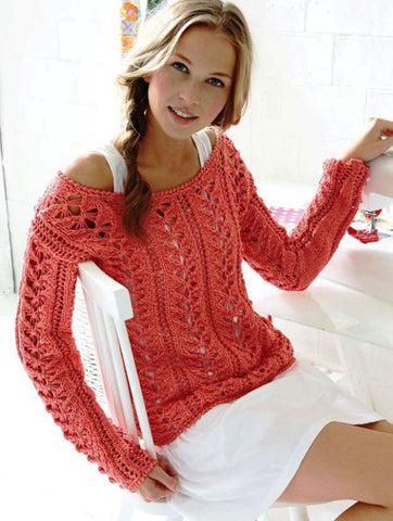 Made-to-order Women Crochet Blouse, 6S - KnitWearMasters