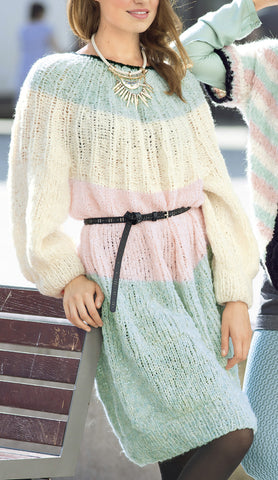 Women's Hand Knitted Dress 10E - KnitWearMasters