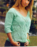 Made-to-order Women Crochet Blouse, 7S