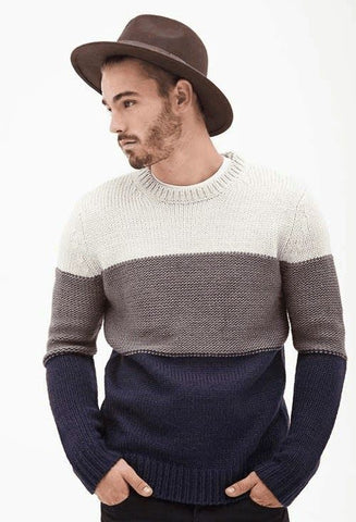 Men's Hand Knit Sweater 83B - KnitWearMasters