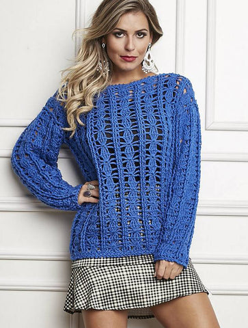 Made-to-order Women Crochet Blouse, 8S - KnitWearMasters