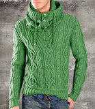 Men's Hand Knitted V-Neck Sweater 26B - KnitWearMasters