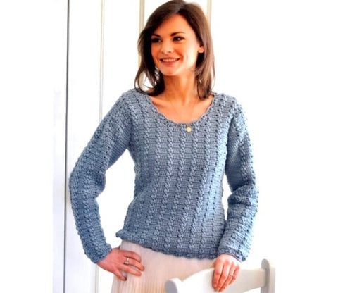 Made-to-order Women Crochet Blouse, 17S