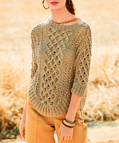 Women's Hand Knit Boatneck Sweater 48C