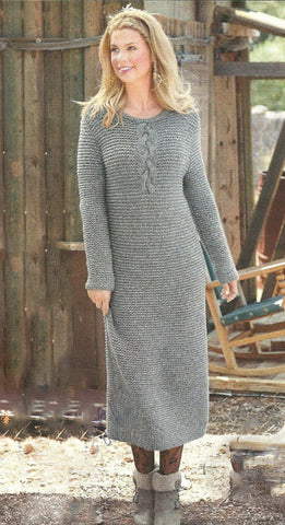 Women's Hand Knit Dress 103E
