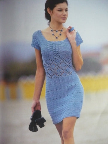 Made-to-order Women Crochet Dress, 27S