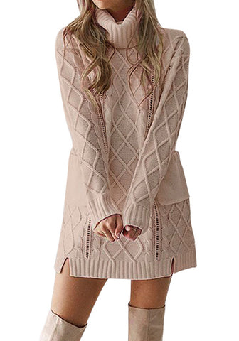 Women's Hand Knit Dress 45E - KnitWearMasters
