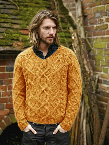 Men's Hand Knit Sweater 275B - KnitWearMasters
