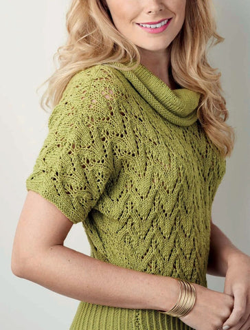 Women's Wool Hand Knit Blouse, 51S - KnitWearMasters