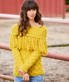 Women's Hand Knit Boatneck Sweater 70C - KnitWearMasters