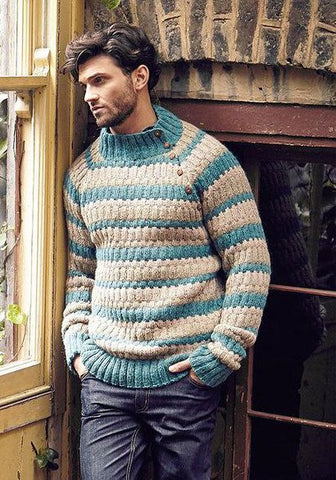 Men's Hand Knit Sweater 156B - KnitWearMasters