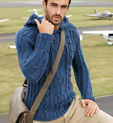 Men's Hand Knit Sweater 98B - KnitWearMasters