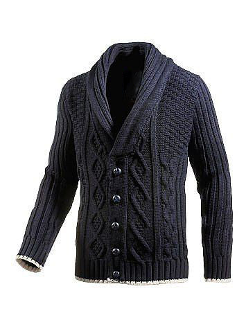 MADE TO ORDER MEN HAND KNIT CARDIGAN 130A