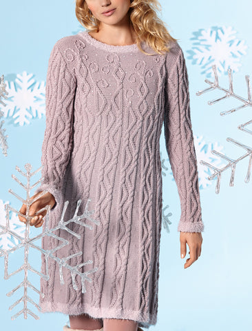 Women's Hand Knit Dress 34E - KnitWearMasters