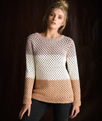 Women Crochet Blouse, 25S - KnitWearMasters
