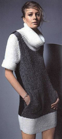 Women's Hand Knit Dress 33E - KnitWearMasters
