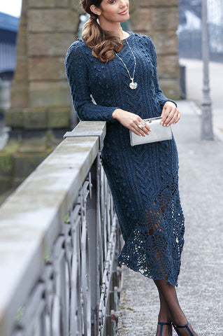 Women's Hand Knit Dress 52E