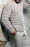 Men's Hand Knit Sweater 143B - KnitWearMasters