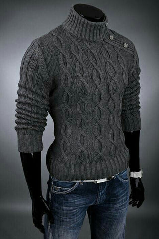 Men's Hand Knit Sweater 99B - KnitWearMasters