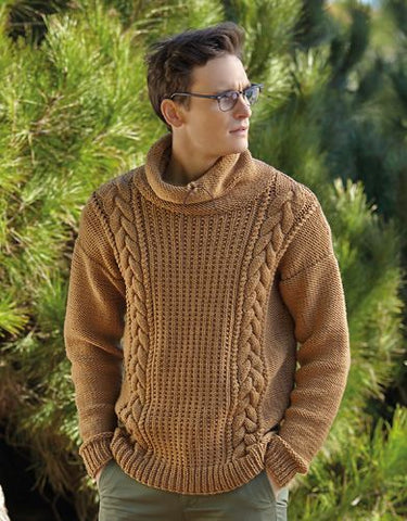 Men's Hand Knit Sweater 146B