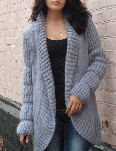Women's Hand Knitted Cardigan 13D