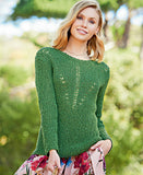 Women's Hand  Knit Boatneck Sweater 66C