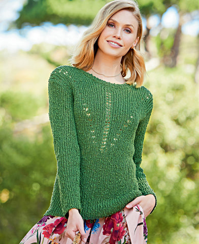 Women's Hand  Knit Boatneck Sweater 66C - KnitWearMasters