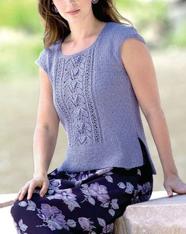 Women's Summer Hand Knit Blouse, 48S - KnitWearMasters
