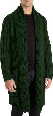 MADE TO ORDER Men hand knit cardigan 137A