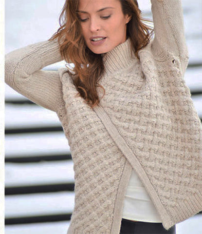Womens Hand Knit Cardigan.50D