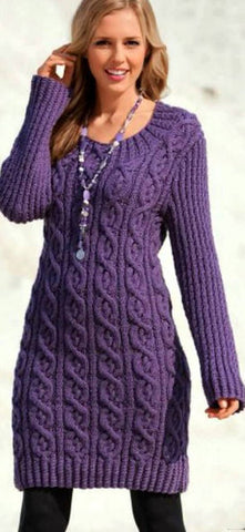 Women's Hand Knit Tunic 30E