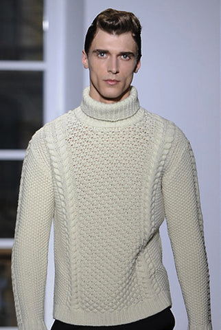 Men's Hand Knit Sweater 74B - KnitWearMasters