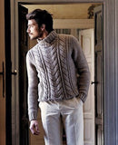 Men's Hand Knit Sweater 102B - KnitWearMasters