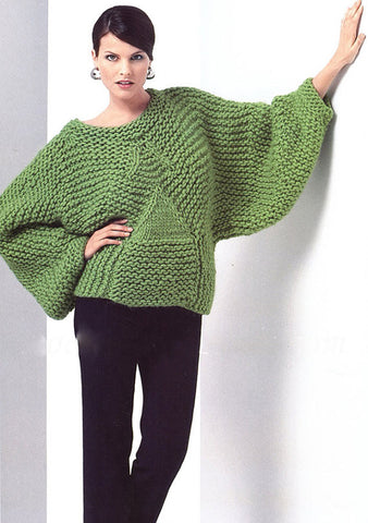 Women's Hand Knitted Boatneck Sweater 16C - KnitWearMasters