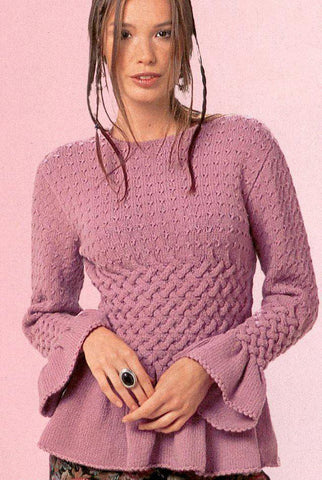 Women's Knit Boatneck Sweater 41C - KnitWearMasters