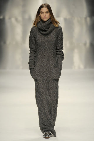 Women's Hand Knit Dress 21E - KnitWearMasters