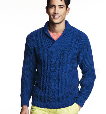 Men's Hand Knit Sweater 205B