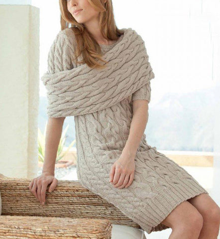 Women's Hand Knit Dress 47E