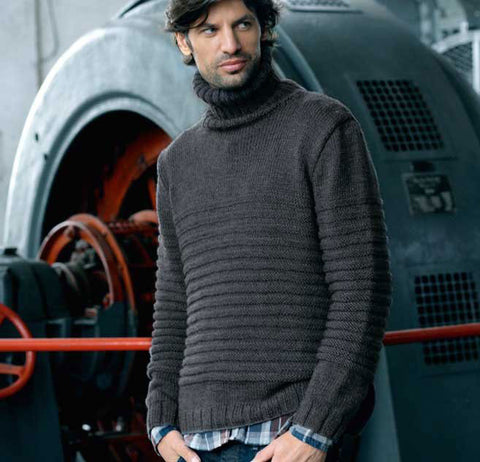 Men's Hand Knit Sweater 183B - KnitWearMasters