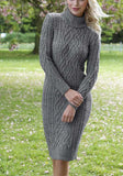 Women's Hand Knit Dress 51E
