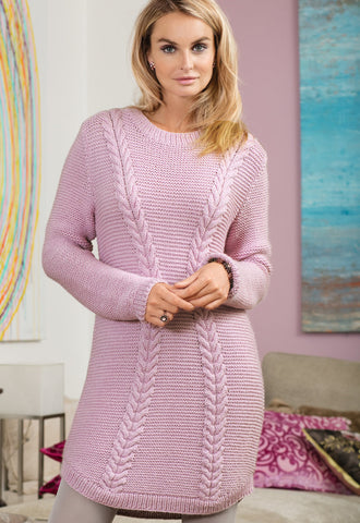 Women's Hand Knit Tunic 118E