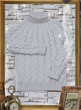 Men Hand Knit Turtleneck Sweater 260B - KnitWearMasters