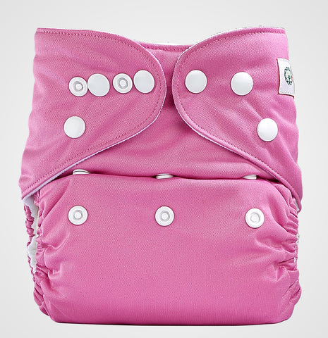 Bumberry Pocket Style Cloth Diaper (Rose Pink) + One Microfiber Insert