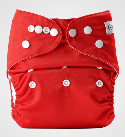 Bumberry Pocket Style Cloth Diaper (Deep Red) + One Microfiber Insert